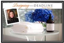 "My Blog - Designing With A Deadline / My blog ""Designed with a Deadline"" is full of tips each day to complete your projects in a tight timeline with luxury products and beautiful results.  www.denisemcgaha.com/Blog / by Denise McGaha"