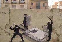 Street Art / A arte tomando de assalto as ruas...as ruas que pertencem a todos!