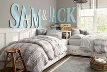 Kid's Room Design Inspiration / The Project Cottage features Coastal Inspired Designs for the Hip Cottage. Home Décor, Cushions & Poufs, Prints & Frames, Home Accents, Wall Art, Coat Racks & much more. Visit our website at www.theprojectcottage.com/