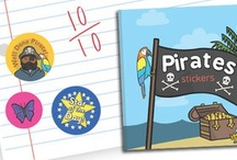 Twinkl Stickers / We have a lovely range of themed stickers just for you, including literacy, numeracy, pirates, animals, dinosaurs, rewards, and much more! Check them out here: http://www.twinkl.co.uk/store/twinkl-reward-stickers / by twinkl Primary Teaching Resources