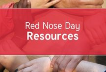 Red Nose Day / A board for all the resources you need for Red Nose Day #RND
