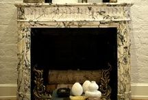 Burn Baby Burn / Beautiful Fireplaces and Mantels / by Denise McGaha