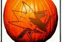Happy #Sharkoween! / Are you a master pumpkin carver? Dressing up in a Sharks costume this year? Decorating your house Sharks themed for Halloween?  Here's a collection of some of the best fan photos and ideas to get you ready for October 31. / by San Jose Sharks