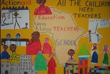 Όλα τα παιδιά του κόσμου χρειάζονται δασκάλους! / Η Παγκόσμια Εβδομάδα Δράσης για την Εκπαίδευση (GAW) 2013 ζητά περισσότερους και καλύτερα εκπαιδευμένους δασκάλους! Μάθε περισσότερα στο http://education.actionaid.org/GAW2013