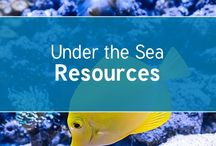 Under the Sea / #underthesea resources for #EYFS #KS1 and #KS2 from the trusted home of thousands of lovely unique #primary #teaching #resources for EYFS, KS1, KS2, home educators,childminders, nurseries and more.