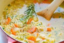 soups/sauces / by Sarah Joos