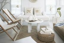 Coastal Room Design Ideas / Beautiful coastal rooms and decor. The Project Cottage features Coastal Inspired Designs for the Hip Cottage. Home Décor, Cushions & Poufs, Prints & Frames, Home Accents, Wall Art, Coat Racks & much more. Visit our website at www.theprojectcottage.com/