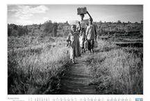 Calendario 2014 - Gente d'Africa / 6 fotografi e i loro scatti per combattere la fame.  Alessandro Visconti Paolo Sacchi  Daniela Tarantini                             Pietro Masturzo  Giorgio Perottino Catalina Martin-Chico