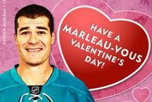 Happy Valentine's Day! / Happy Valentine's from your San Jose Sharks!  This Valentine's Day spread the love Sharks style.  Download Valentine's Day cards at www.sjsharks.com/valentine