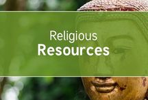 Religious Resources / Resources for Religious Education including Christianity, Judaism, Islam, Hinduism, Sikhism, Buddhism and places of worship.