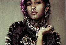 Indian Clothes / Beautiful Indian textiles, cuts , patterns and ensembles
