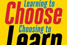 Learning to Choose, Choosing to Learn / This board is a collection of videos and other resources to help teachers consider giving students choices about their learning.