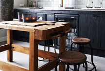 Fabulous Kitchens / Let's pin interesting kitchen designs and ideas. Bringing together friends and family is fun, especially when you can be surrounded by a gorgeous kitchen.