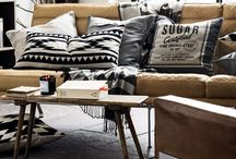 Trending Tribal / New Bohemian and Tribal patterns and decor are very popular these days.
