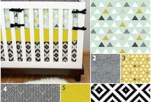 Tribal and Bohemian Nursery Ideas / Fun prints, pillows, bedding and other decor for a tribal or bohemian themed nursery and kid's room.