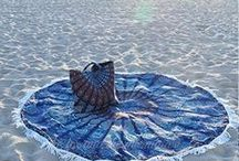 Round Mandala Beach Towels (terrycloth) / Round beach towels. Mandala Tapestries Poufs, Chic Dog Beds & Cushions Boho Home and Dorm Decor and Bohemian Clothing
