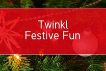Twinkl Festive Fun / Check out the new pins everyday for giveaways and surprises! ⛄️ #twinklfestive #christmas #twinkl