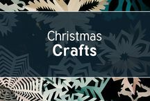 Christmas Crafts / Lots of ideas to help you get your Christmas Crafts off to a flying start! #christmas #crafts