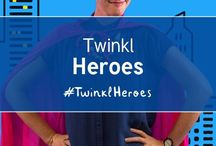 Twinkl Heroes / I teach. What's your superpower? #twinklheroes