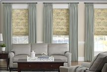 windows - drapes and shades / window treatments can make a room / by Designing Home