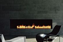 light a fire  / contemporary styling for cozy fires