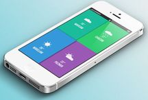 00UI / It describes the latest trends in the mobile ui panorama by showcasing screenshots