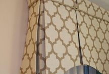 Windows - valances and cornices / ideas for a streamlined window