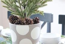 Styling- simple seasonal decor / Celebrating seasons and special holidays in a simple way
