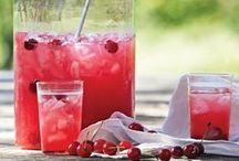 Tart Cherry Juice / For an added boost of nutrition, flavor and color, try the sweet-tart taste of tart cherry juice in your favorite drink recipes - from cocktails to spritzers to lemonade.