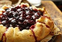 Baking with Tart Cherries / Tart cherries are what's inside the traditional, All-American cherry pie.  But don't stop there. Explore all the delicious ways you can bake with tart cherries -- fresh, frozen and canned.