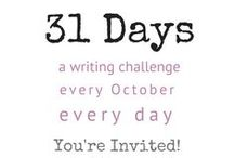 Write 31 Days Community / The official collaborative board for the Write 31 Days community to share blog posts & promote one another through repins, hosted by Crystal Stine. To be invited to this board: 1. Follow Crystal Stine on Pinterest (not just the board you want to pin to) 2. Email write31days@gmail.com from the account that is connected with your Pinterest account 3. Include PINTEREST BOARD INVITE in the email subject line.  / by Crystal Stine