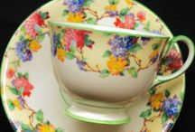 cups & saucers / by Sally Crist Seier