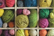 Knit or Crochet / Yarn and simple possibilities / by Ondine Finn