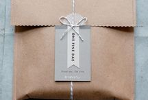 Wrapping | Packaging /  Wrapping Ideas  Inpak ideeën