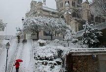Winter in France - Hiver en France