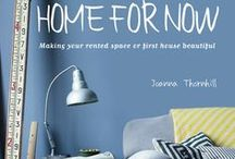 Home for Now Book / Whether you're a renter looking for landlord-friendly temporary decorating ideas, or a cash-strapped homeowner looking for easy transformations without making drastic changes, adapting a home-for-now approach is easier than you think. This board accompanies my book, Home for Now by Joanna Thornhill (Cico Books, April 2014) -  to find out more, visit www.joannathornhill.co.uk/home-for-now-book. Tag your own home-for-now-related pictures with the hashtag #homefornowbook and I'll repin them here!