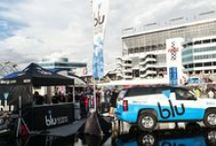 blu Events / All around the country, #blu adds to the buzz at music festivals, sporting events, technology conferences and more. Meet up with us, we'd love to meet you!