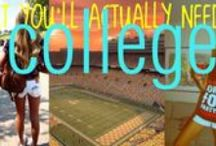 College / by Leah Bluhm
