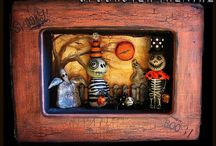 Halloween Art Doll Inspirations / by Candace Jedrowicz