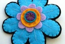 Sewing & Crafting - Fabric Flowers & other Embellishments