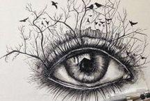Drawing   Doodles   Zentangles / Draw it, Doodle it, Sketch it, Tangle it