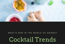 Cocktail Trends / Smoking, ageing, barrel, on top, frozen...what are the next new cocktail trends?