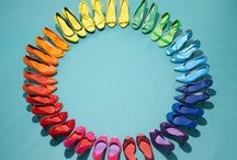 Bright & Cheerful Rainbow Wedding Ideas! / Fun colour combos, clever ideas and sunny designs for your wedding day.
