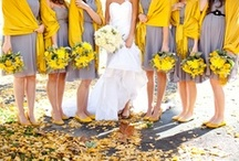 Yellow weddings / In our five+ years of posting, we've featured a LOT of yellow wedding dresses, yellow wedding shoes, and yellow wedding decor. Dive in with us! / by Offbeat Bride