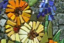 Mosaics, Art Glass etc. / by Penny Kettlewell
