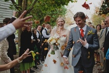 Autumn Wedding Inspiration / Such a bountiful season is a fabulous source of wedding inspiration - great colours, textures, natural motifs and foods. Autumn is a great time to wed - not too hot, or too cold and it will make for some great photographs!