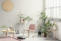 Home Inspiration // / home decor. lifestyle musings. mid century modern. modern bohemian. inspiration.