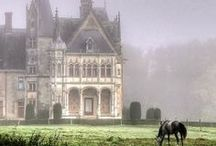 Chateau / French Chateau Style / by Rew Elliott