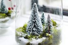 I Love Christmas / Beautiful winter decorations that are easy to make.