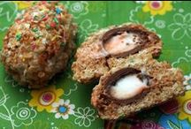 Easter Recipes / recipes for Easter and ways to use up leftover hard-boiled eggs and/or ham